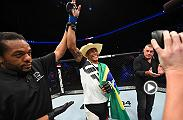 "Alex ""Cowboy"" Oliveira talks his third round TKO win against Will Brooks in the Octagon at UFC Fight Night Portland."