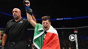 Brandon Moreno talks his submission win and UFC debute over Louis Smolka at UFC Fight Night Portland.