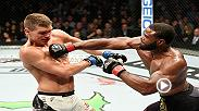 Watch Tyron Woodley and Stephen Thompson in the Octagon after Woodley retained his welterweight belt at UFC 205 in Madison Square Garden.