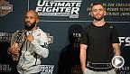 Check out the staredowns from The Ultimate Fighter Finale Ultimate Media Day on Thursday ahead of all the action inside the Octagon on Saturday night live and free on FS1. Demetrious Johnson vs. Tim Elliott, Joseph Benavidez vs. Henry Cejudo and more.