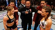 Watch Ronda Rousey successfully defend her belt against Miesha Tate at UFC 168. Don't miss Rousey's return to the Octagon at UFC 207.