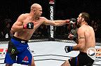 Watch Donald Cerrone in the Octagon after another victory at welterweight, as Cerrone KO'd Matt Brown at UFC 206.