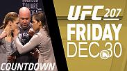 UFC 207 Countdown takes you inside the lives and training camps of four bantamweights preparing for their December title fights.