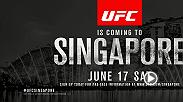 The Octagon travels to Singapore for a Fight Night on June 17. Stay tuned for more information about the fight card and tickets!