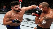 Kelvin Gastelum silenced the crowd at Fight Night Fortaleza when he KOd Vitor Belfort in the opening round.