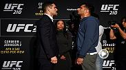 Preview the pivotal middleweight showdown between Chris Weidman and Gegard Mousasi, as the two are set to meet at UFC 210 live on Pay-Per-View.