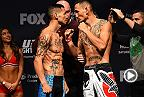 Watch Max Holloway's Performance of the Night victory over Cub Swanson during their bout in Newark, New Jersey in April of 2015.
