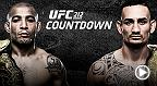 Longtime champion Jose Aldo seeks to prove that he still has the skills to stay atop the division, but win-streaking Max Holloway, who captured the interim title in Aldo's absence, plans to emerge as the division's new face.