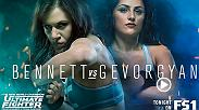 No. 4 seed DeAnna Bennett will take on No. 13 Karine Gevorgyan. It all goes down tonight as The Ultimate Fighter returns at 10pm ET on FS1 with a brand new episode.
