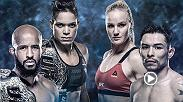 Watch the official Media Day Face-Offs featuring the stars of UFC 215, live from Edmonton, Alberta, Canada, including Demetrious Johnson, Amanda Nunes, and more. Order UFC 215 now at: www.ufc.com/ppv