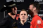 Watch the Fight Night Gdansk Media Day face-offs, featuring main event fighters Donald Cerrone and Darren Till.