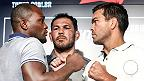 Preview the main event for Fight Night Sao Paulo, featuring middleweight contenders Derek Brunson and Lyoto Machida. Fight Night Sao Paulo airs live on FS1 on Saturday, Oct. 28.