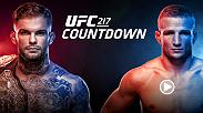 UFC 217 Countdown goes into the camps and lives of the six stars competing in NYC on Nov. 4. Bitter rivals and onetime teammates Cody Garbrandt and TJ Dillashaw will at last clash for the belt that Garbrandt now holds and that Dillashaw once wore.