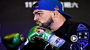 Kelvin Gastelum believes he can compete with the elite and he'll attempt to prove that on Saturday against former champion Michael Bisping at Fight Night Shanghai.