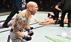 In a stunning upset, featherweight Josh Emmett finished longtime division contender Ricardo Lamas in the co-main event of Fight Night Winnipeg. He spoke about the huge win inside the Octagon after the fight.