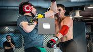 Brandon Moreno prepares at the UFC Performance Institute and had a sparring session with No. 1 ranked Joseph Benavidez.