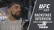 Hear from Chris Gruetzemacher backstage following his big win over Joe Lauzon at UFC 223.