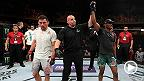 Kamaru Usman extended his welterweight win-streak to eight, after defeating Demian Maia by unanimous decision in the main event of UFC Fight Night Chile. Watch Usman's Octagon interview where he discusses the performance and what's next at welterweight.