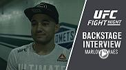 We catch up with Marlon Moraes backstage following his stunning KO victory over Jimmie Rivera at Fight Night Utica.