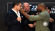 Check out the stars of UFC 225 as they come face to face following media day in Chicago. UFC 225 airs Saturday June 9, 2018. Visit www.ufc.tv/events to order.