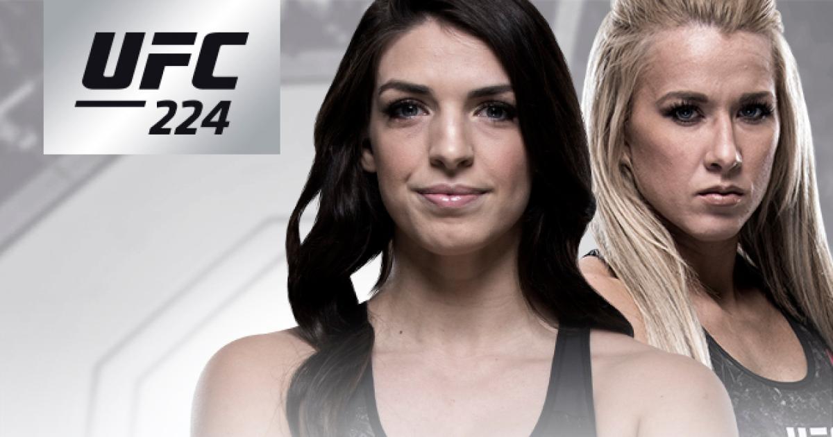 Image result for UFC 224: Mackenzie Dern vs Amanda Cooper Live fight Free
