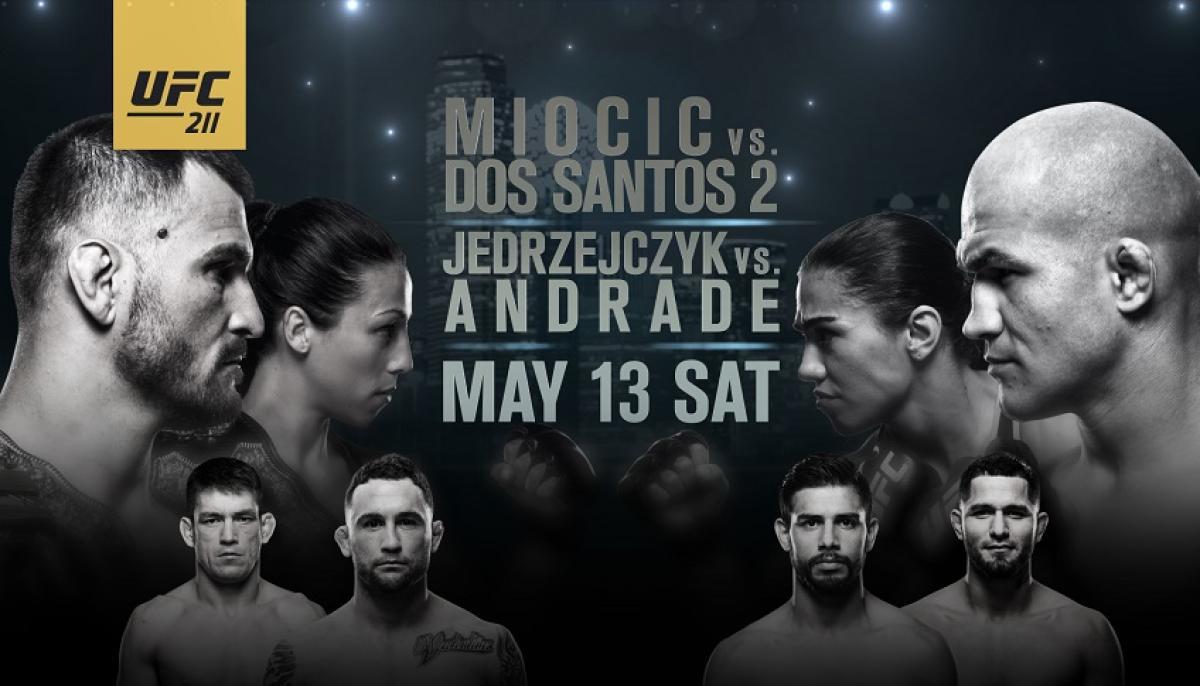 Image result for UFC 211 Miocic vs. Dos Santos live pic logo