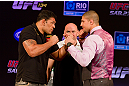 A heavyweight showdown between Brendan Schaub and Minotauro Nogueira