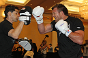 UFC 132 Open Workouts: Ryan Bader