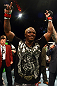 Melvin Guillard celebrates his victory after knocking out Shane Roller.
