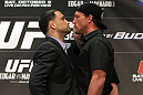 Frankie Edgar and Gray Maynard face off