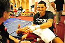 Anthony Pettis prepares for his fight