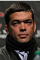 TORONTO, ON - DECEMBER 08:  Lyoto Machida attends the final UFC 140 pre-fight press conference at Bell Tiff Lightbox Cinema1 on December 8, 2011 in Toronto, Canada.  (Photo by Josh Hedges/Zuffa LLC/Zuffa LLC via Getty Images)