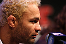 LAS VEGAS, NV - FEBRUARY 02:  Josh Koscheck attends the UFC 143 final pre-fight press conference at the Mandalay Bay Hotel & Casino on February 2, 2012 in Las Vegas, United States.  (Photo by Josh Hedges/Zuffa LLC/Zuffa LLC via Getty Images) *** Local Caption *** Josh Koscheck