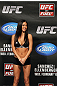 OMAHA, NE - FEBRUARY 14:  UFC Octagon Girl Arianny Celeste attends the UFC on FUEL TV weigh in event at Omaha Civic Auditorium on February 14, 2012 in Omaha, Nebraska.  (Photo by Josh Hedges/Zuffa LLC/Zuffa LLC via Getty Images) *** Local Caption *** Arianny Celeste