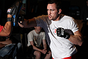 SYDNEY, AUSTRALIA - FEBRUARY 28:  Kyle Noke works out for the media during the UFC on FX open workouts at the Star Casino on February 28, 2012 in Sydney, Australia.  (Photo by Josh Hedges/Zuffa LLC/Zuffa LLC via Getty Images) *** Local Caption *** Kyle Noke
