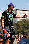 RIO DE JANEIRO, BRAZIL - OCTOBER 10:  Glover Teixeira greets fans after an open training session ahead of UFC 153 at Arcos da Lapa: Praca Cardeal Camara on October 10, 2012 in Rio de Janeiro, Brazil.  (Photo by Josh Hedges/Zuffa LLC/Zuffa LLC via Getty Images)
