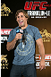 HONG KONG - NOVEMBER 07:  Urijah Faber provides commentary during a UFC open workout session at Harbour City Mall on November 7, 2012 in Hong Kong, Hong Kong.  (Photo by Josh Hedges/Zuffa LLC/Zuffa LLC via Getty Images)