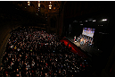 "CHICAGO, IL - JANUARY 25:  A general view of the theatre as Quinton ""Rampage"" Jackson and Glover Teixeira face off during the UFC on FOX weigh-in on January 25, 2013 at the Chicago Theatre in Chicago, Illinois. (Photo by Josh Hedges/Zuffa LLC/Zuffa LLC via Getty Images)"