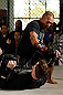 TORRANCE, CA - FEBRUARY 20:  Ivan Menjivar conducts an open training session for fans and media at the UFC Gym on February 20, 2013 in Torrance, California.  (Photo by Josh Hedges/Zuffa LLC/Zuffa LLC via Getty Images)