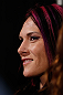 ANAHEIM, CA - FEBRUARY 21:  UFC women's bantamweight contender Cat Zingano attends a UFC pre-fight press conference at Honda Center on February 21, 2013 in Anaheim, California.  (Photo by Josh Hedges/Zuffa LLC/Zuffa LLC via Getty Images)