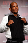 TOKYO, JAPAN - FEBRUARY 28: Hector Lombard poses for photos during a UFC press conference at the Hilton Sjinjuku Hotel on February 28, 2013 in Tokyo, Japan. (Photo by Josh Hedges/Zuffa LLC/Zuffa LLC via Getty Images)