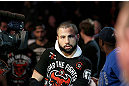 MONTREAL, QC - MARCH 16: John Makdessi enters the arena before lightweight bout against Daron Cruickshank during the UFC 158 event at Bell Centre on March 16, 2013 in Montreal, Quebec, Canada.  (Photo by Jonathan Ferrey/Zuffa LLC/Zuffa LLC via Getty Images)