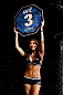 MONTREAL, QC - MARCH 16: UFC Octagon Girl Arianny Celeste introduces a round during the UFC 158 event at Bell Centre on March 16, 2013 in Montreal, Quebec, Canada.  (Photo by Josh Hedges/Zuffa LLC/Zuffa LLC via Getty Images)