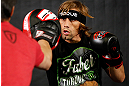 LAS VEGAS, NV - APRIL 11: Urijah Faber holds an open workout session for media at the UFC Training Center on April 11, 2013 in Las Vegas, Nevada. (Photo by Josh Hedges/Zuffa LLC/Zuffa LLC via Getty Images)