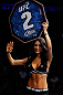 NEWARK, NJ - APRIL 27:   UFC Octagon Girl Arianny Celeste introduces a round during the UFC 159 event at the Prudential Center on April 27, 2013 in Newark, New Jersey.  (Photo by Josh Hedges/Zuffa LLC/Zuffa LLC via Getty Images)