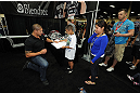 LAS VEGAS, NV - JULY 7:  Brendan Schaub signs autographs for fans during the UFC Fan Expo at the Mandalay Bay Convention Center on July 7, 2012 in Las Vegas, Nevada.  (Photo by Al Powers/Zuffa LLC/Zuffa LLC via Getty Images)  *** Local Caption ***