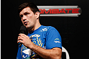 FORTALEZA, BRAZIL - JUNE 07:  Demian Maia interacts with fans during a Q&A session before the UFC weigh-in at Paulo Sarasate Arena on June 7, 2013 in Fortaleza, Ceara, Brazil.  (Photo by Josh Hedges/Zuffa LLC/Zuffa LLC via Getty Images)