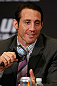 LAS VEGAS, NV - JULY 04:  Tim Kennedy interacts with media during the final UFC 162 press conference at the MGM Grand Hotel/Casino on July 4, 2013 in Las Vegas, Nevada.  (Photo by Josh Hedges/Zuffa LLC/Zuffa LLC via Getty Images)
