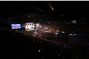LAS VEGAS, NV - JULY 05:  A general view of the arena as Anderson Silva weighs in during the UFC 162 weigh-in at the Mandalay Bay Events Center on July 5, 2013 in Las Vegas, Nevada.  (Photo by Josh Hedges/Zuffa LLC/Zuffa LLC via Getty Images)