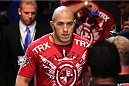 MILWAUKEE, WI - AUGUST 31:  Brandon Vera enters the arena prior to his bout against Ben Rothwell in their UFC heavyweight bout at BMO Harris Bradley Center on August 31, 2013 in Milwaukee, Wisconsin. (Photo by Ed Mulholland/Zuffa LLC/Zuffa LLC via Getty Images) *** Local Caption *** Brandon Vera